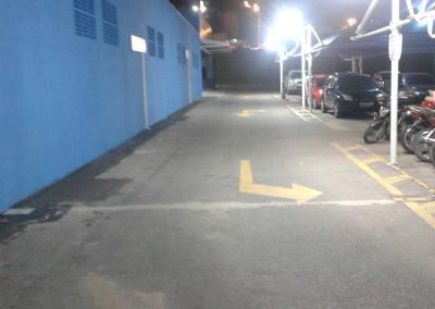 Iluminação de Estacionamento