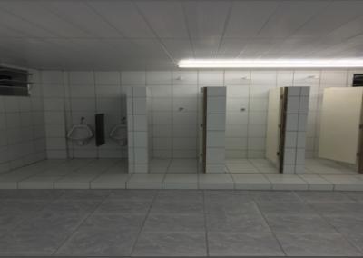 Construção de WC's para os funcionários
